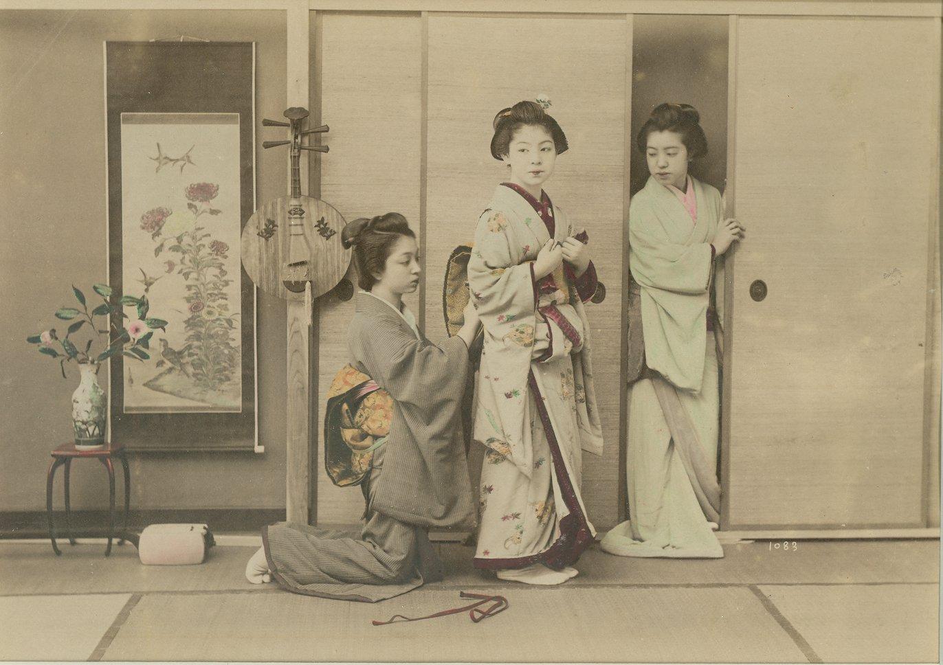 Японки в деревне 5 фотография
