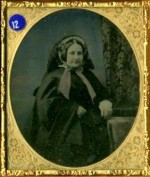 Beautifully Tinted English Ambrotype of a Lady