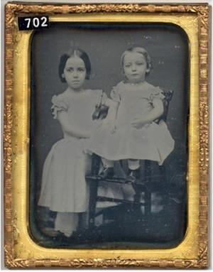 Daguerreotype of Two Children