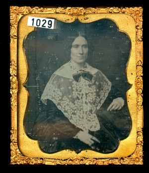 Daguerreotype of a Lady wearing a Pellerine