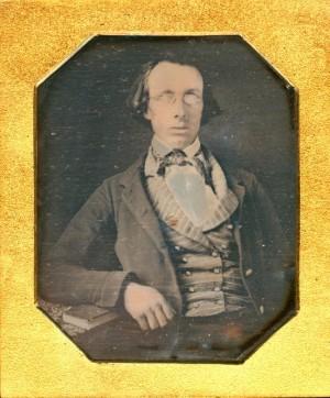 Daguerreotype of a Blind Man,