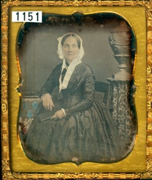 Daguerreotype of a Mature Lady