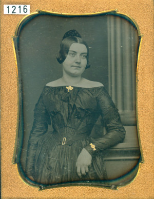 Daguerreotype of a Lady