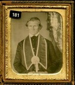Brother Ebenezer Wright, Fraternal order daguerreotype