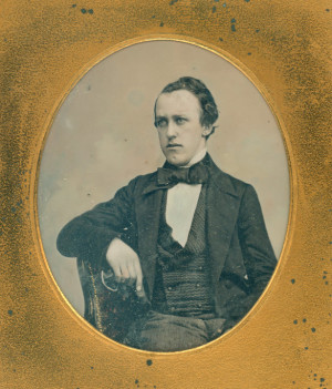 Daguerreotype of Dr. Alfred Playne,