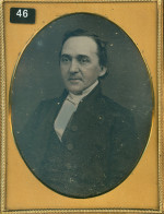Daguerreotype of a Gentleman in 18th Century Clothes