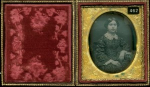 Daguerreotype of a Young Lady