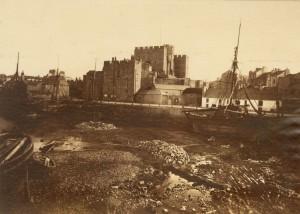 Castle Rushen, Castledown, Isle of Man, August 1876