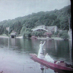 A Punt on a Lake,