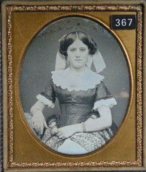 Daguerreotype of Young Lady in a Summer Dress