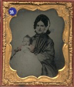Ambrotype of a Mother and Daughter