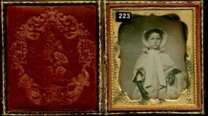 Daguerreotype of a Well Dressed Young Girl
