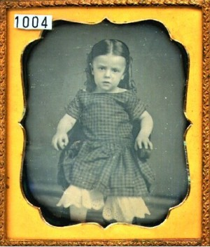 Daguerreotype of a Small Girl