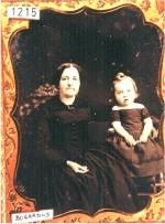 Daguerreotype of a Mother & Child by Bogardus