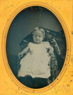 Daguerreotype of a Blond Hair Child