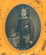Daguerreotype of a Cute Kid