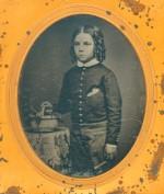 Daguerreotype of a Cute Kid