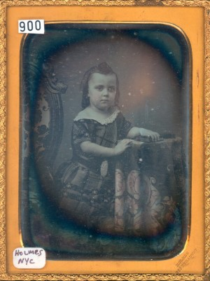 Daguerreotype of a Small Child