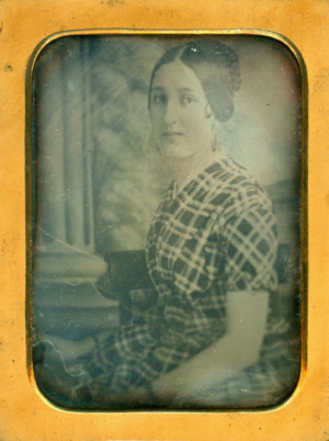 Daguerreotype of a Young Lady of 22 years