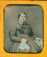 Daguerreotype of a Mature Southern Lady