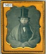 Benjamin Alden Wooster wearing a Stove Top Hat
