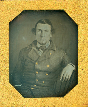 Daguerreotype of a Naval Officer