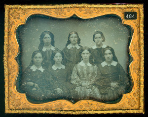 Ladies Finishing School – Group Daguerreotype