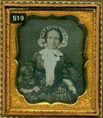 Daguerreotype of Grandma Sanborn