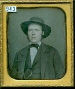 Daguerreotype of a Man in a Smart Hat