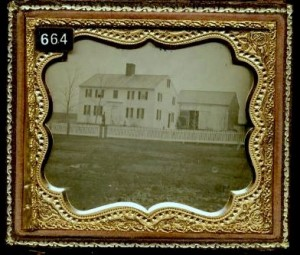 Daguerreotype of a New House
