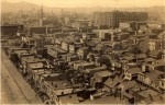 Panorama of San Francisco and the Palace Hotel