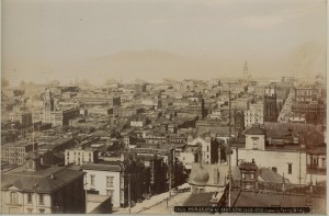 Panorama of San Francisco, California, c1900